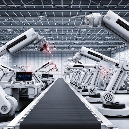 ロボットアームのイメージ