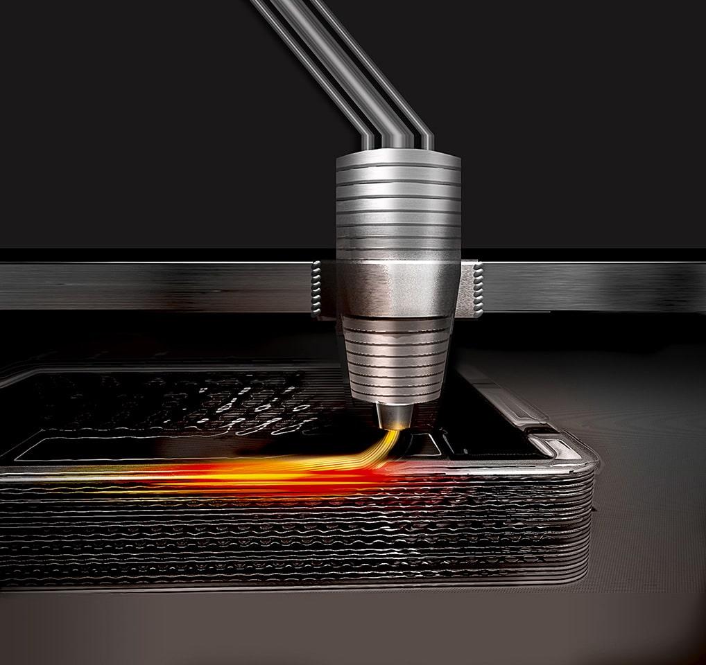 金属3Dプリントイメージ