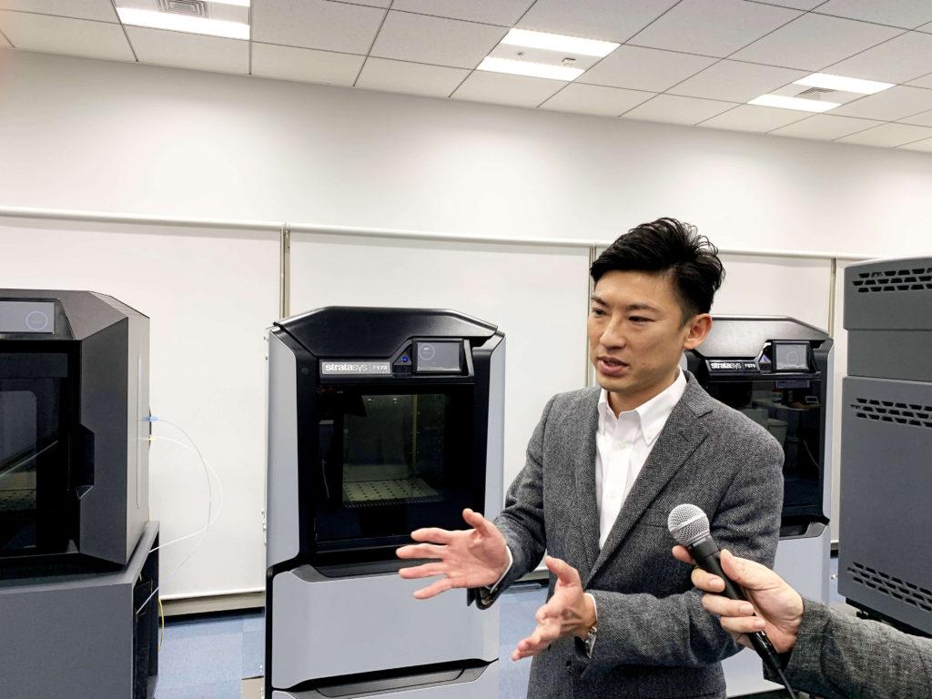 製造ソリューション事業本部 事業企画部 管理課の杉山 元祥氏