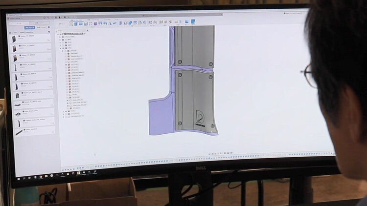 3Dモデリングの風景