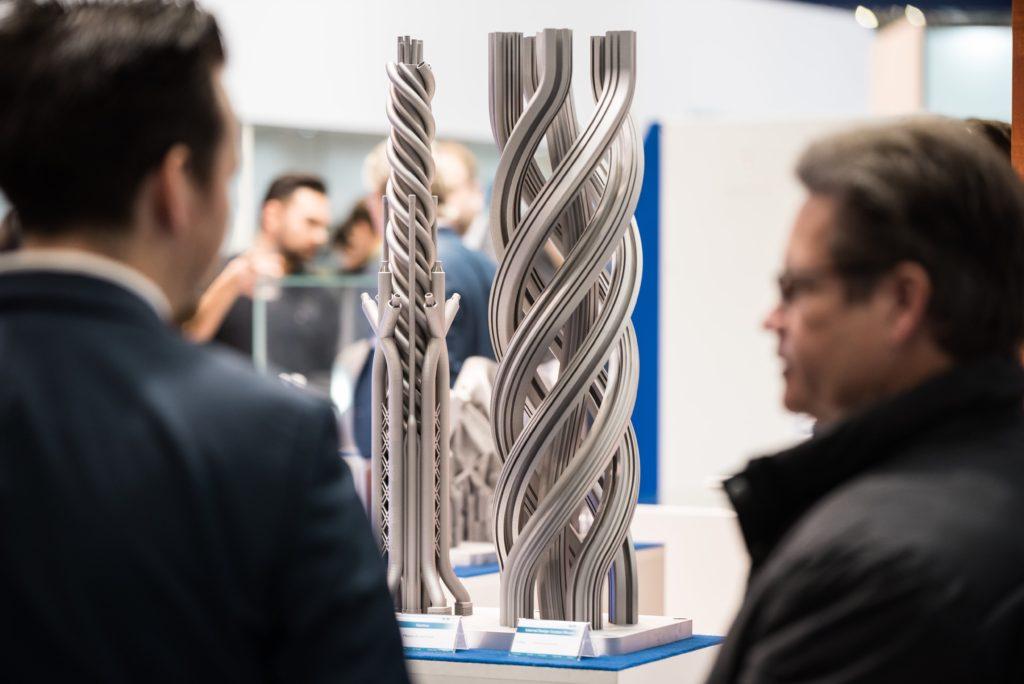 画像は、Formnext 2019の様子。Mesago Messe Frankfurt GmbH /Mathias Kutt氏のものより引用