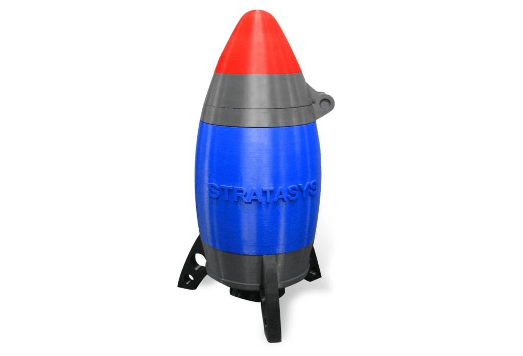 Antero 800NAを材料とした造形物(ストラタシス公式Webサイトより引用)