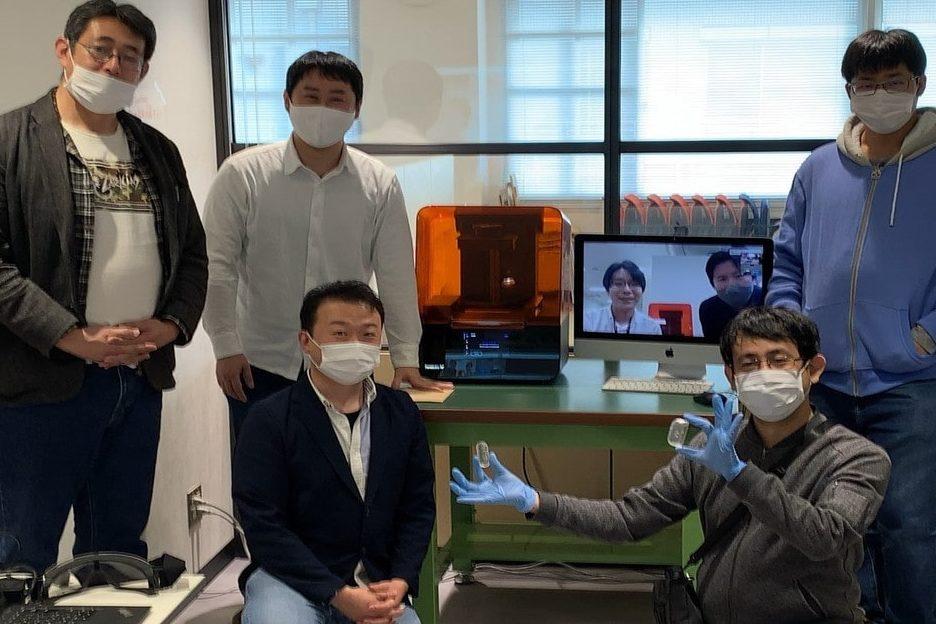 加賀市イノベーションセンターによるForm3導入風景